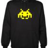 Space Invaders Black Hoodie