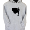 Superman Proud and Tall Grey Hoodie