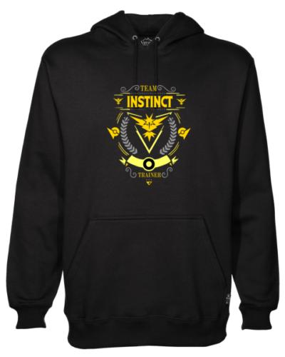 Team Instinct Black Hoodie