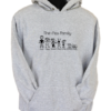 The Ass Family Grey Hoodie