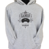The Mega Gamer Grey Hoodie