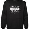 dragon is not a slave Black Hoodie