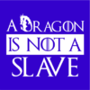 dragon is not a slave blue square
