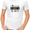dragon is not a slave mens tshirt white