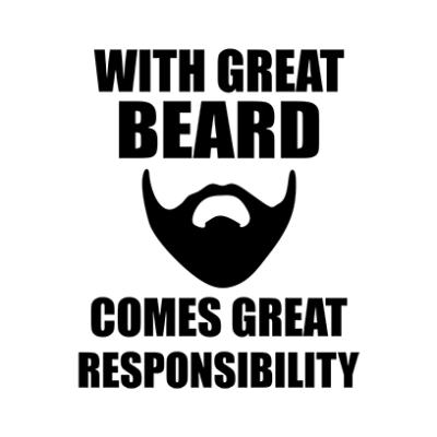 great beard white square