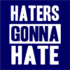 haters gonna hate navy square