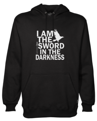 i am the sword Black Hoodie