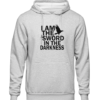 i am the sword Grey Hoodie