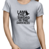i am the sword ladies tshirt grey