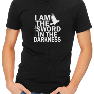 i am the sword mens tshirt black
