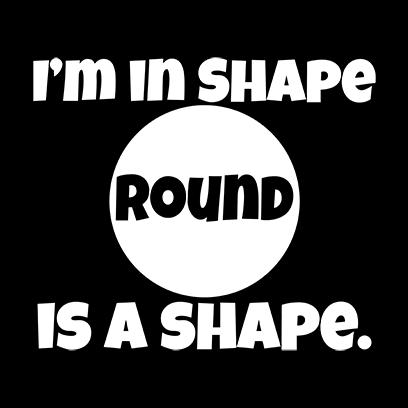 im in shape black square