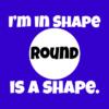 im in shape blue square