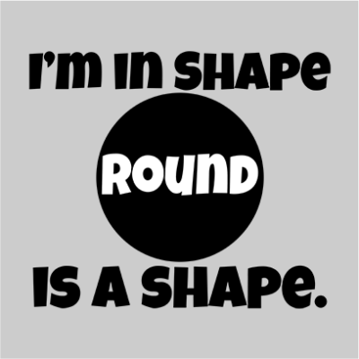 im in shape grey square