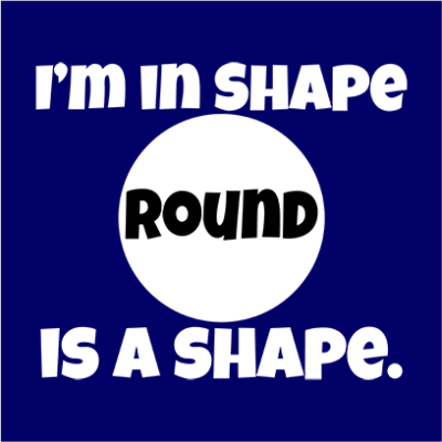 im in shape navy square
