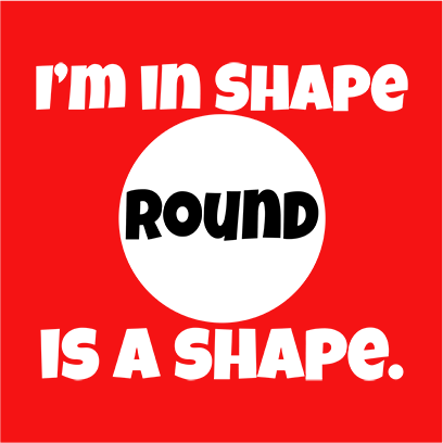 im in shape red square