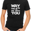 may the 4th mens tshirt black