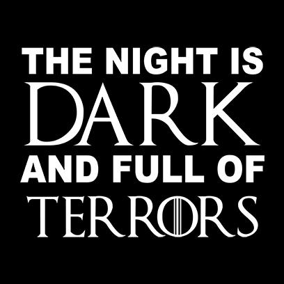night is dark black square