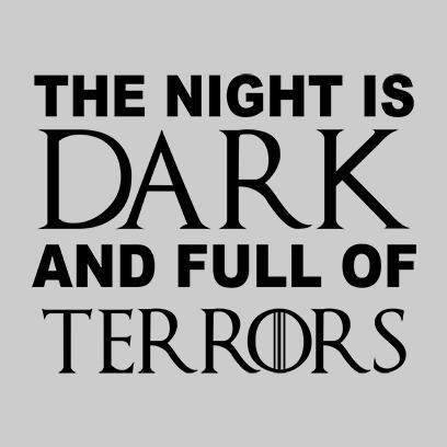 night is dark grey square