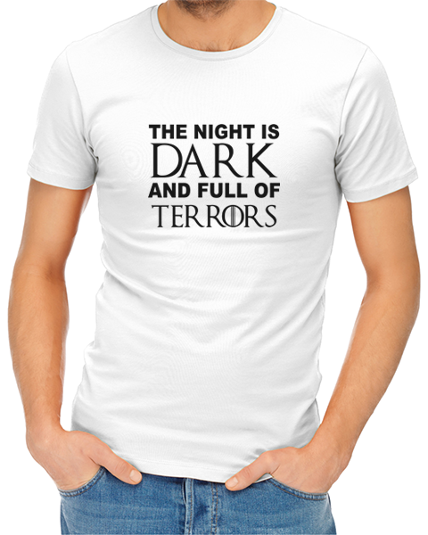 b9a585993 The Night Is Dark And Full Of Terrors - JuiceBubble T-Shirts