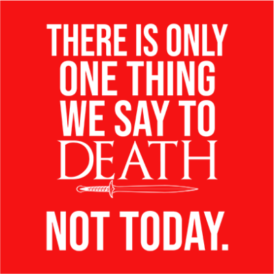 one thing we say to death red square