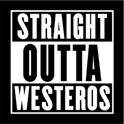straight outta westeros black square