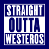 straight outta westeros navy square