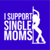 support single moms blue square