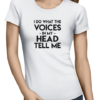the voices ladies tshirt white