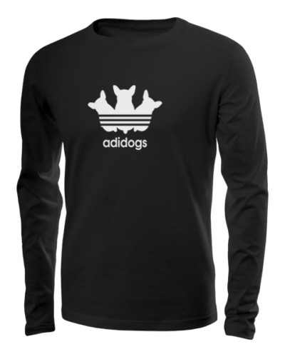 adidogs long sleeve black