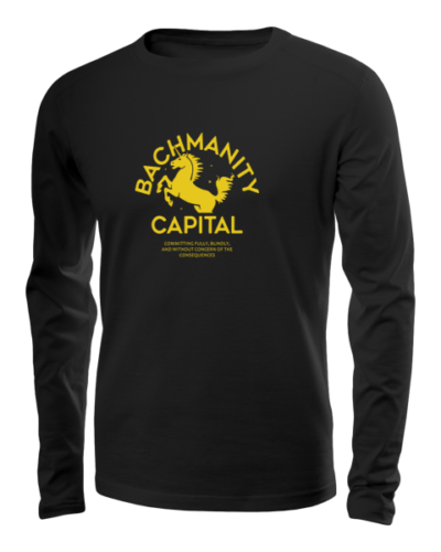 bachmanity long sleeve black