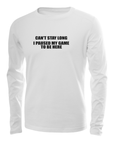 cant stay long long sleeve white