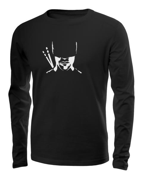 daredevil silhouette long sleeve black