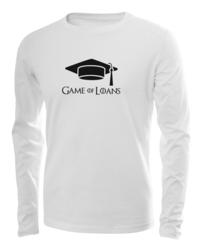 game of loans long sleeve white