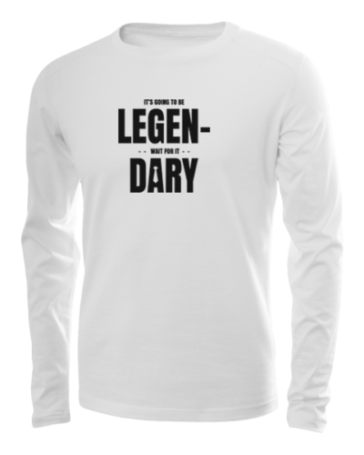 legendary long sleeve white