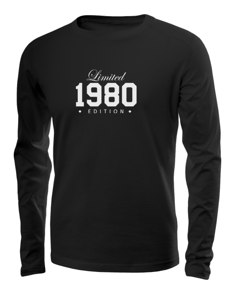 limited edition long sleeve black