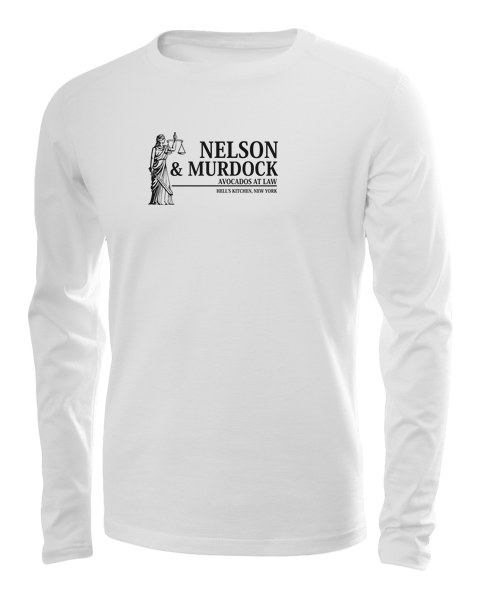 nelson and murdock long sleeve white