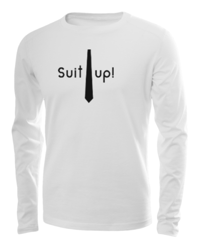 suit up long sleeve white