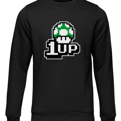 1up black sweater