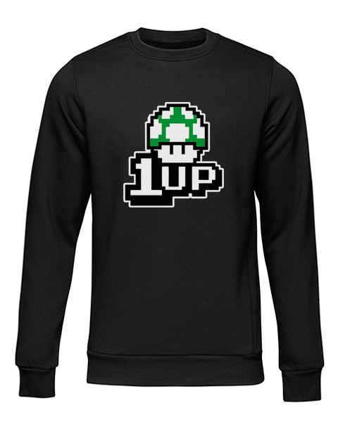 1up black sweater