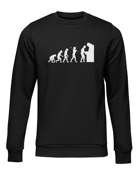 arcade evolution black sweater