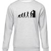 arcade evolution grey sweater