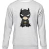 baby batman grey sweater