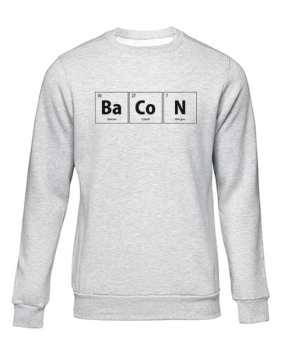 bacon grey sweater
