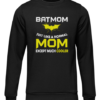batmom black sweater