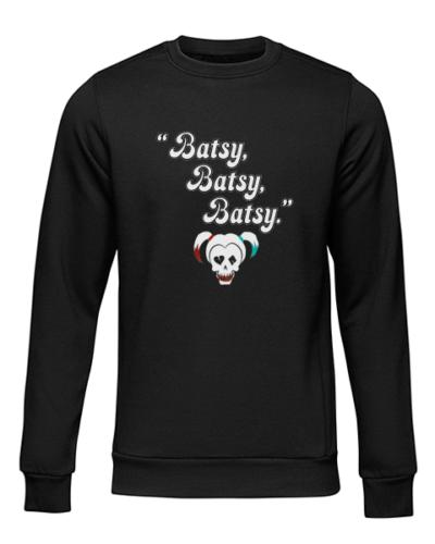 batsy black sweater