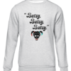 batsy grey sweater