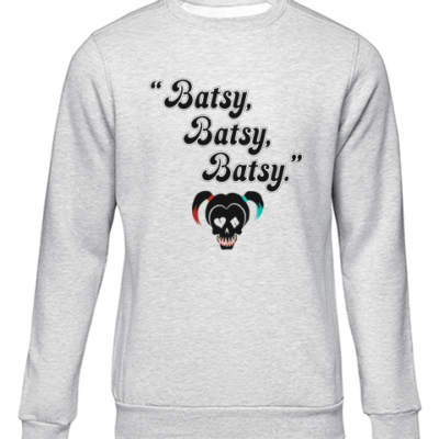 batsy grey sweater