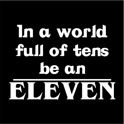 be an eleven black square