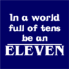 be an eleven navy square