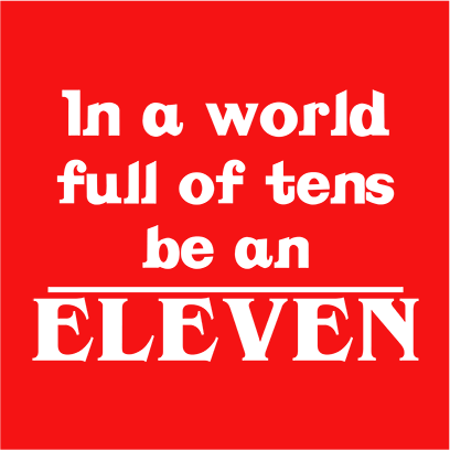 be an eleven red square